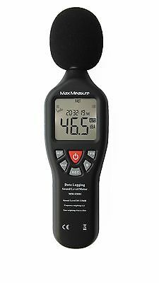 Digital Sound Level Decibel Meter 30-130dB Pressure Tester USB Noise Measurement