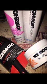 Wanted: Toni & Guy shampoo and conditioner, hair mask and hair brush