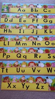 Alphabet Room Decor Yellow Dingley Village Kingston Area Preview