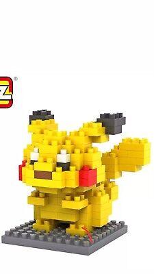 MONSTER MICRO DIAMOND BLOCK MINIFIGURES POKEMON - Pikachu - Toys Easter (Monster Blocks)