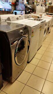 Refurbished with warranty washers & fridges