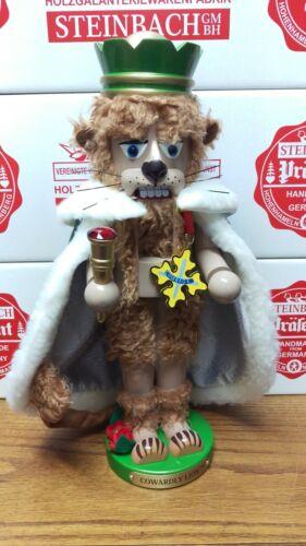 New in Box - Steinbach Wizard of Oz Cowardly Lion Nutcracker - S1805