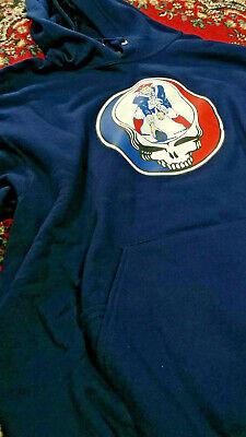 Patriots Hoodie L Grateful Dead Shakedown Lot Sweatshirt ](Grateful Dead Hoodie)