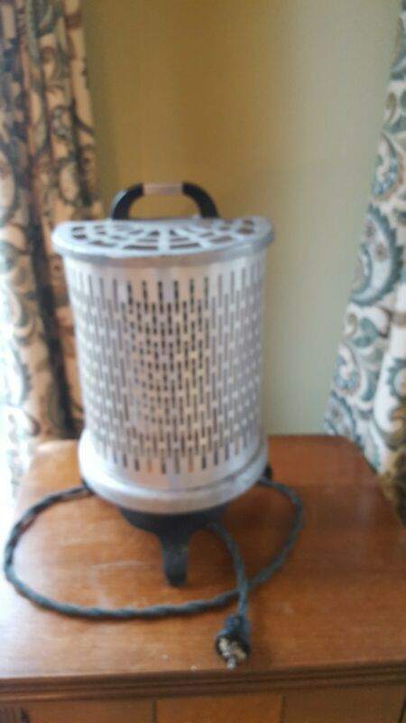 Antique Wesix  Electric Floor Heater Vintage Art Deco 1930 and 40