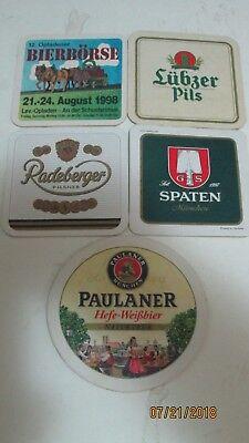 German Beer Coasters From Germany