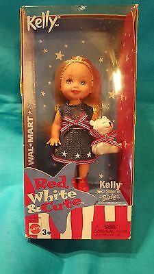 MATTEL KELLY DOLL RED WHITE & CUTE 2003 (NIB)