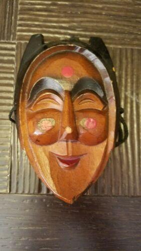 Hand Carved Korean Female  Mask