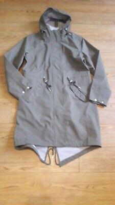 Ilse Jacobsen Hornbaek raincoat.RRP £245.Size 40 or 14 UK.Khaki green