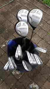 Set of Maxfli golf clubs and golf bag Annerley Brisbane South West Preview