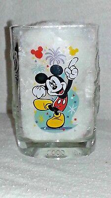 "2000 Walt Disney World ""CELEBRATION WITH MICKEY"" McDonald's Square Glass"