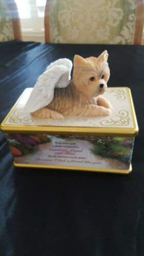 Thomas Kinkade Yorkie Forever Friend Keepsake Box