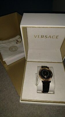 Versace VQG040015 Ladies V-Helix leather Swiss Quartz watch