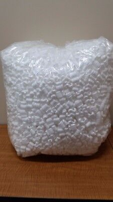 WHITE POPCORN 3.5 cu ft PACKING PEANUTS FREE SHIP