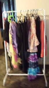 Two racks of clothing $5 and $3 and some $1 SALE Greenwith Tea Tree Gully Area Preview