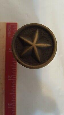 Texas Star drawer pull knob - Star Drawer Pulls