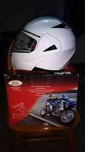 NEW Large Flip Face Motorcycle helmet - Modular / Flip front Newcastle Newcastle Area Preview