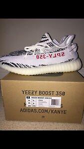 """Adidas Yeezy V2 """"Zebra"""" 10"""