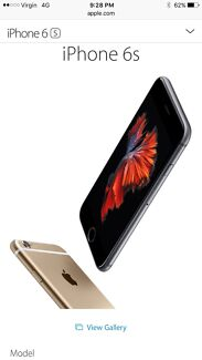 iPhone 6s 64GB Gold sealed & unlocked Chatswood Willoughby Area Preview