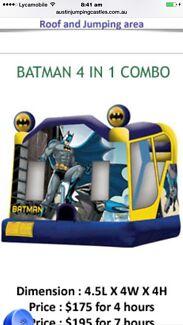 Batman jumping castle hire Silverwater Auburn Area Preview