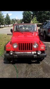 2006 Jeep TJ - 75k km (Alberta Jeep)
