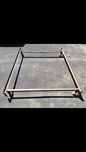 Double/Single metal bed frame $35