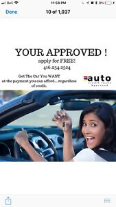 AUTO LOANS.  EVERYONE APPROVED.   BAD CREDIT OK!!!