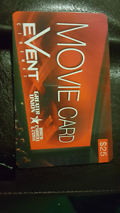 Event cinemas gift card $25 Silkstone Ipswich City Preview