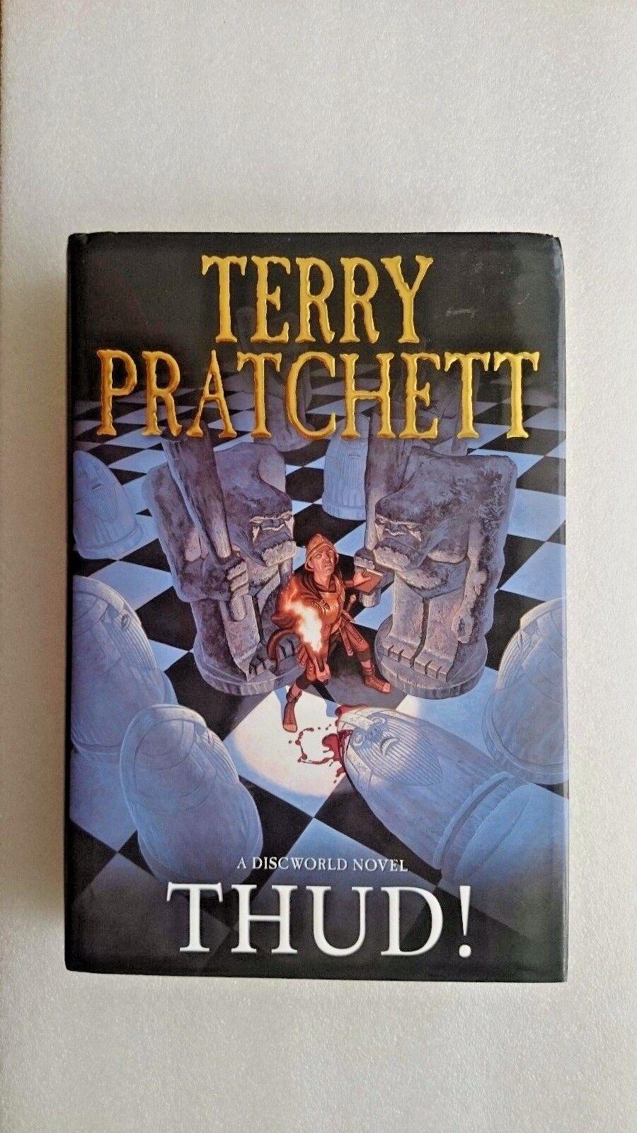 Terry Pratchett Thud A Discworld Novel Large Hardback Book (Signed)