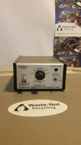 EG&G PARc Model 181 Current Sensitive Preamplifier