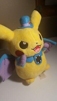 2015 US Pokémon Center Pikachu Halloween Plush Golbat Vampire Costume no tag - Halloween Dress Up Games Vampire