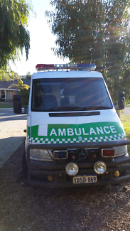 2003 Mercedes-Benz operational ambulance