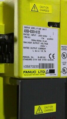Fanuc Ac Servo Amplifier Unit