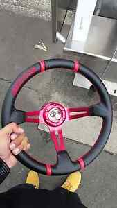JDM Quick Release + Steering Wheel Wollongong Wollongong Area Preview