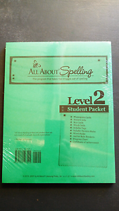 All About Spelling Level 2 Student Pack Riverton Canning Area Preview