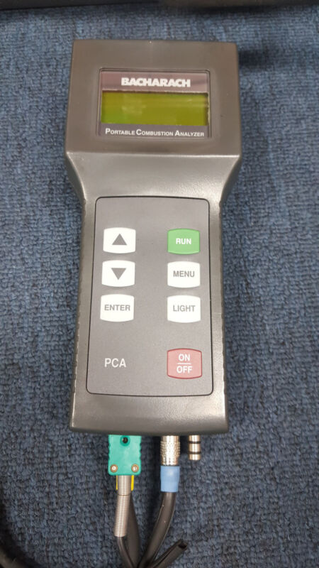Bacharach PCA Portable Combustion Analizer 24-9219