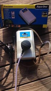 Aqua One 7500 Air Pump with cords Oxenford Gold Coast North Preview