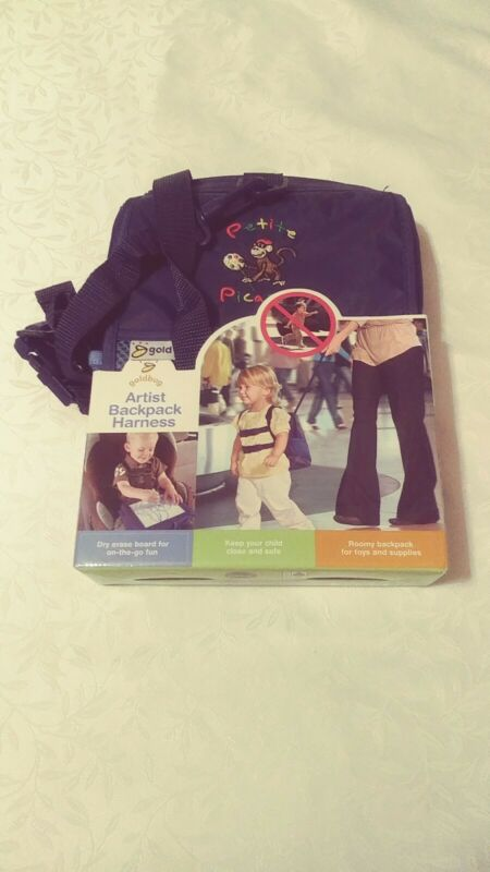 Gold Bug Artist Backpack Harness Includes Two Washable Markers Same Day Shipping