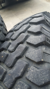 land rover perentie / defender rims and tyres Hobart CBD Hobart City Preview
