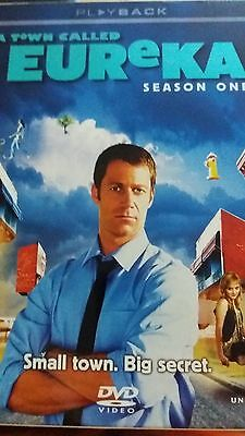 A Town Called Eureka - Series 1 - Complete (DVD, 2008, 4-Disc Set) Used/Exc, used for sale  Woodford Green