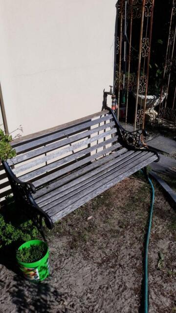 Super Park Bench Seat Other Garden Gumtree Australia Swan Creativecarmelina Interior Chair Design Creativecarmelinacom