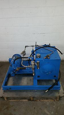 Motion Industries Hydraulic System w/ Reservoir Heat Exchange Pump V10