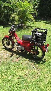 Postie bike Cooktown Cook Area Preview