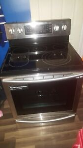 Samsung stainless steel stove dual convection range