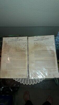 3X SIGNED ANTIQUE U.S. CONGRESSMAN 1808-1815 RICHARD JACKSON JR.,10TH CONGRESS
