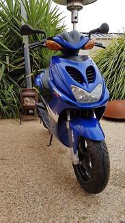 Yamaha aero x 50cc scooter