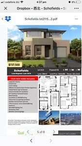 Schofields house & Land package