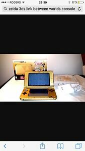 Nintendo 3 ds xl zelda collection  nego comme neuf