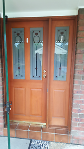 Complete front door with security door. Jerrabomberra Queanbeyan Area Preview