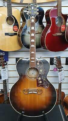 2017 Gibson SJ-200 Standard Vintage Sunburst Jumbo Electro Acoustic Guitar +OHSC