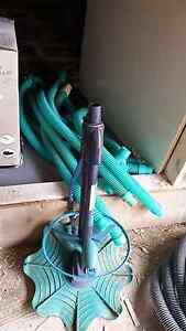 Pool filter +motor + robot vacuum + pipes + clarifier Minto Campbelltown Area Preview
